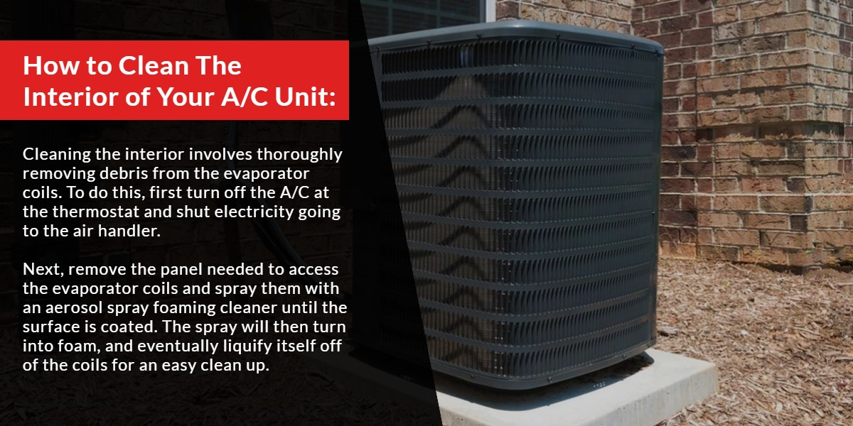 How to clean the interior of your A/C Unit | The Energy Centre