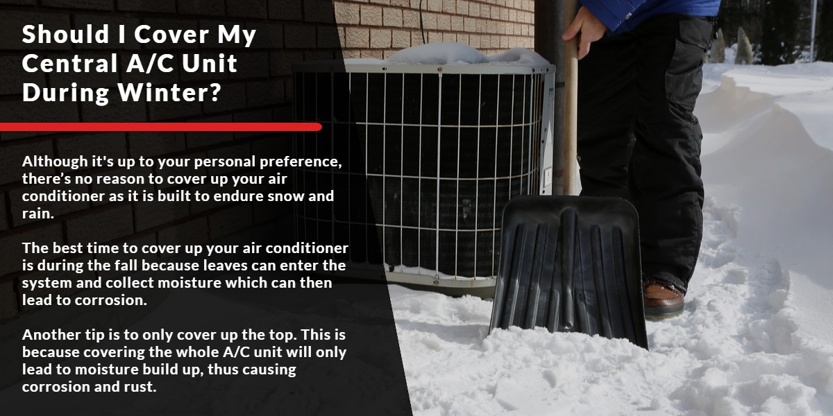 Should I cover my Central A/C Unit during winter? | Energy Centre