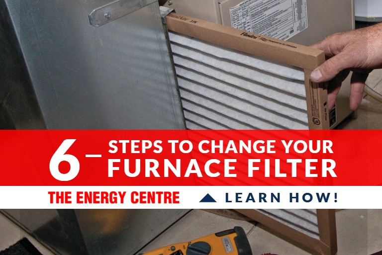 6 steps to change your furnace filter _ Featured Image